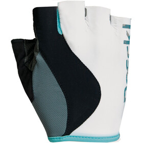 Roeckl Delia Cykelhandsker Damer, white/turquoise
